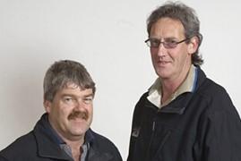 Ron Bedggood & Gary Clark